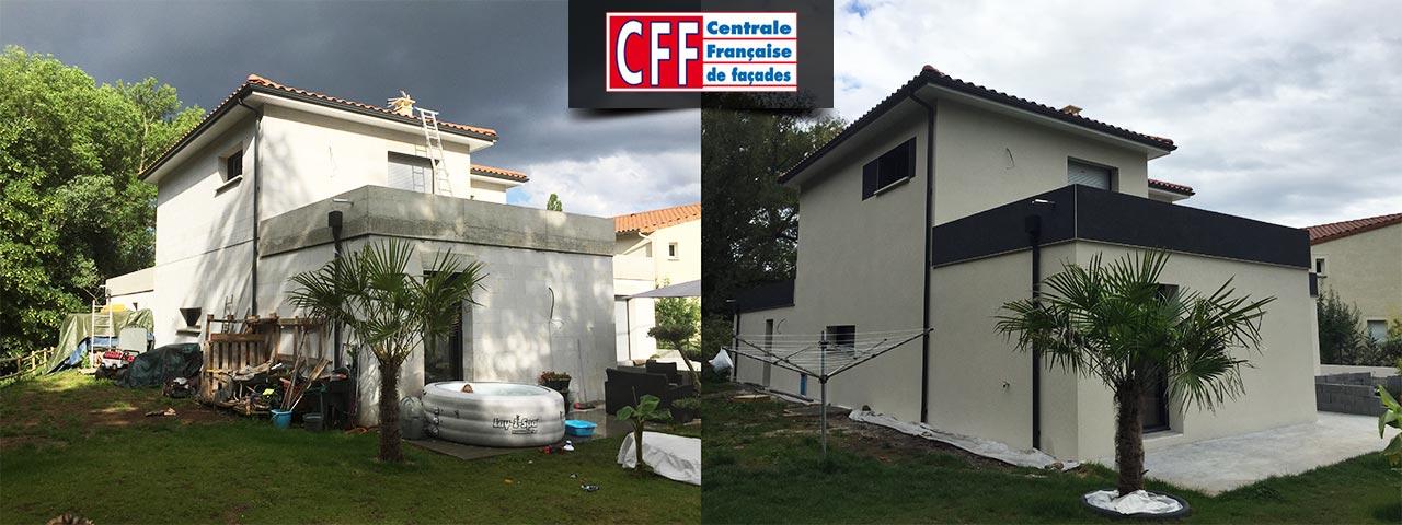 centrale française de façades - maisons