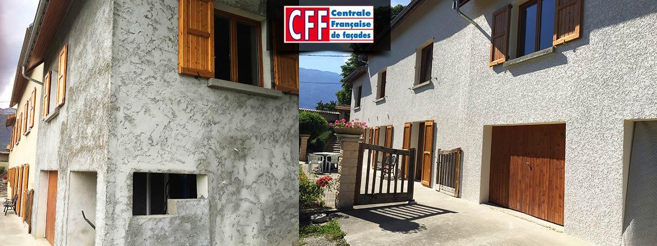 Centrale française de façades