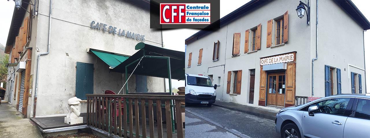 café de la mairie - centrale française de façades