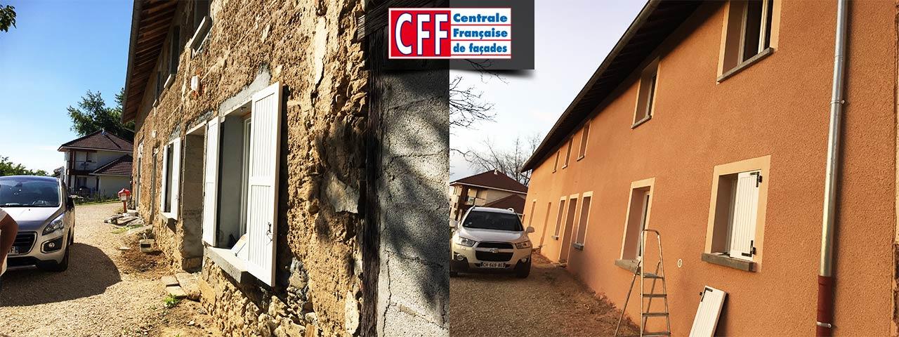 La centrale française de façades.
