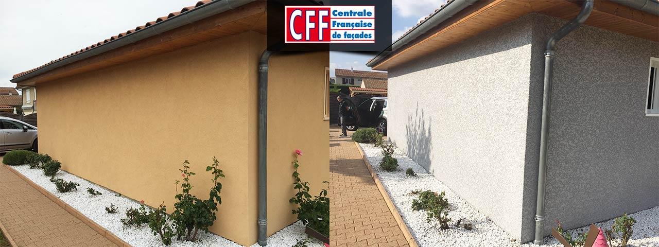 centrale française de façades.