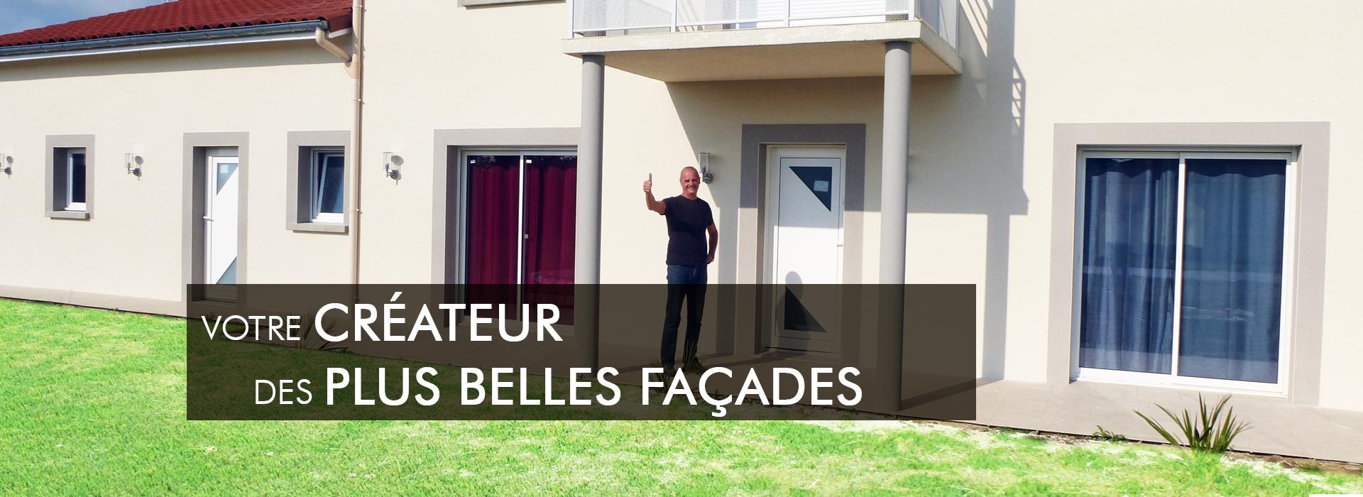 slide createur façade